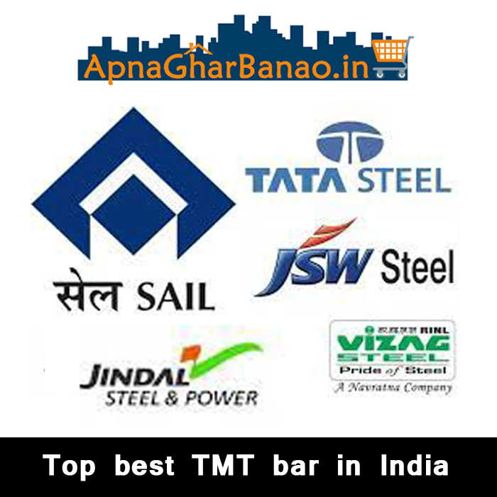 Top Best TMT bar in India for house construction